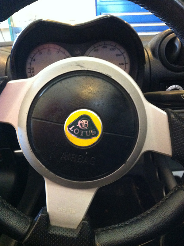 Tacky Steering Wheel