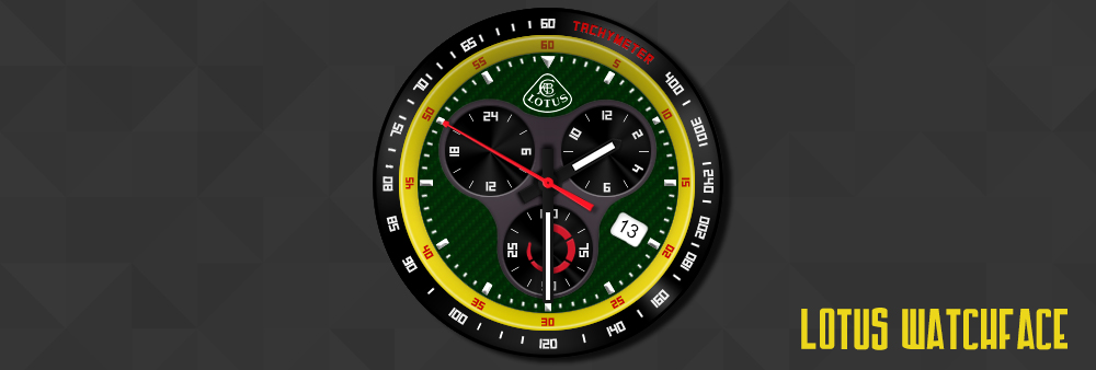 Lotus Watchface